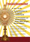 Fronleichnamsfest am 4. Juni 2015 in unserer Kirchengemeinde