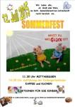 Herz-Jesu Kindergarten Lützenhardt lädt ein zum Sommerfest am Sonntag, 12. Juli ab 11.30 Uhr