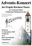 Adventskonzert am 12. Dezember um 17 Uhr in der Herz-Jesu Kirche Lützenhardt