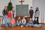 Ministranten von Salzstetten feiern Weihnachtsfeier