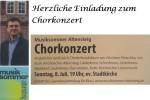 Musiksommer Altensteig - Chorkonzert mit Beteiligung der Waldachtaler Kirchenchöre
