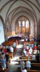 Eucharistiefeier am 11. August in Lützenhardt mit Weihbischof Dr. Kreidler und Gast-Chor