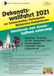 Dekanatswallfahrt 25. + 26. September 2021
